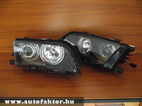 facelift elõtti BMW E46 sedanhoz Angel eyes fényszórópár.