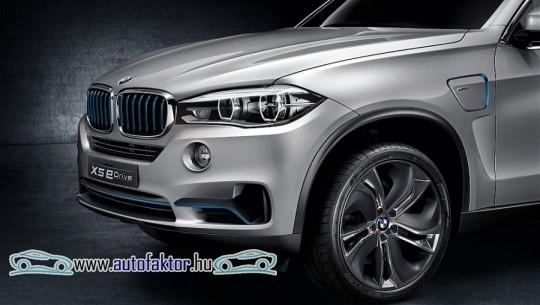 Tanulmányként is megjelenik a BMW X5