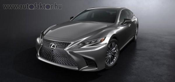 Bemutatkozott az új Lexus LS