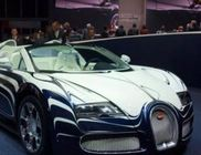 Bugatti Veyron Grand Sport Lor Blanc - 16 hengeres motorral