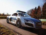 ABT Audi R8 Police - 612 lóerővel a bűnözők nyomában