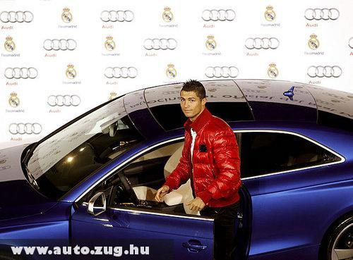 Cristiano Ronaldo ingyen Audit kapott