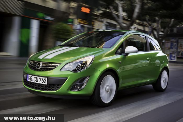 Opel Corsa 2010 - nem nagyon nyúltak hozzá