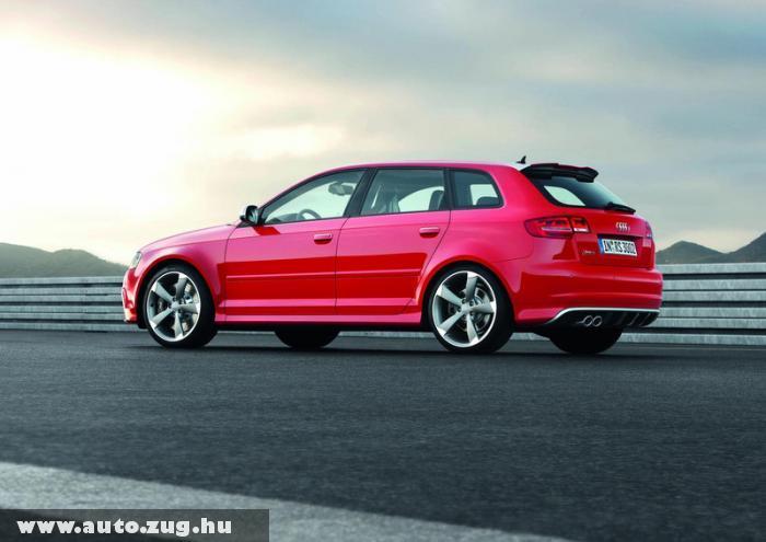Audi RS3 Sportback - valóban sportos járgány