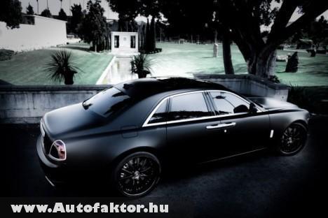 Rolls Royce Ghost - A szellem