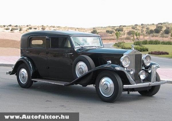 Rolls-Royce Phantom III. 1936-ból