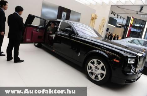 A kínai milliomosok kedvence: Rolls Royce Phantom