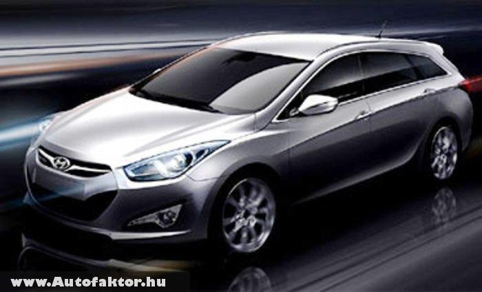 Hyundai i40W - új modell a Mondeo helyett?
