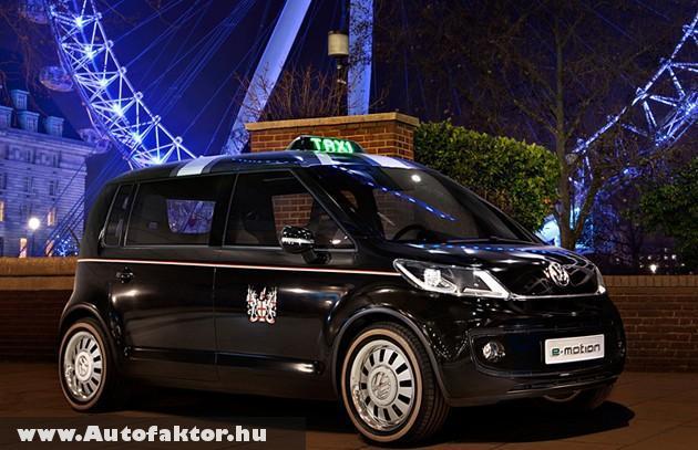Az új londoni taxi