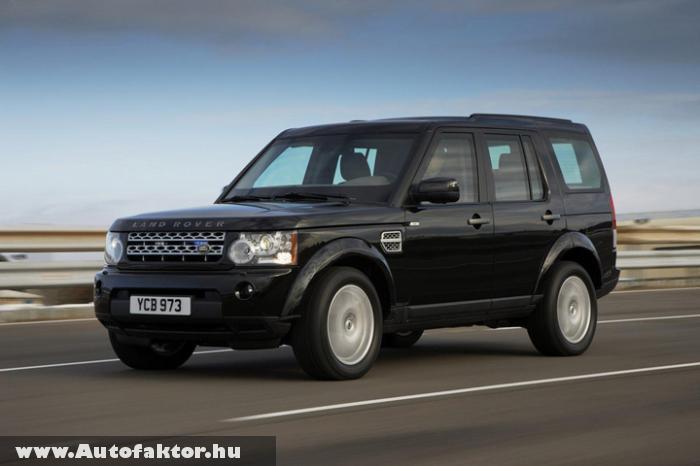 Land Rover Discovery Armoured - golyó- és gránátálló kivitelben