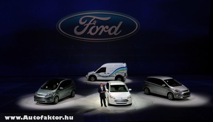 Három 2011-es villanyautó a Ford-tól