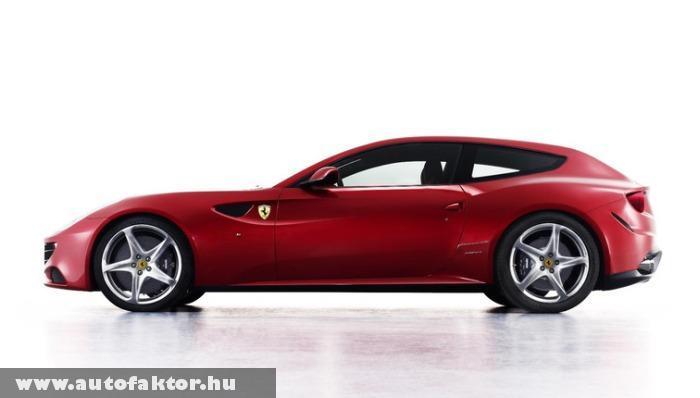 Ferrari FF 2011 - családi a autó a Ferraritól