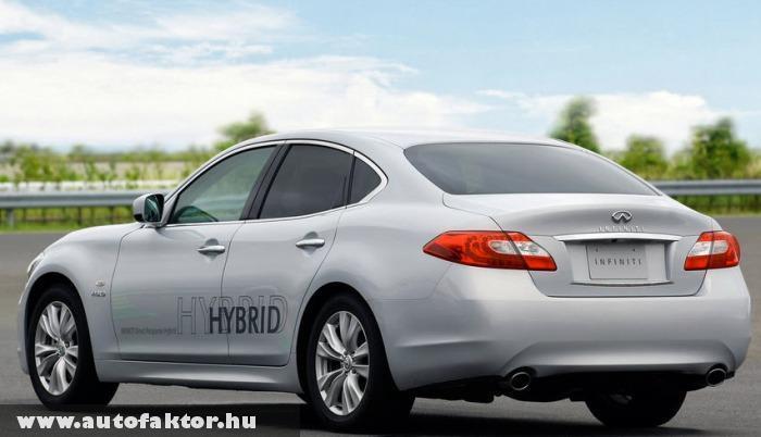 Infiniti M35h - luxus hibrid kis fogyasztással
