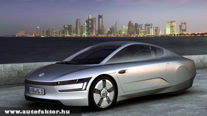 VW XL1 - 9dl gázolaj 100 kilóméterre!
