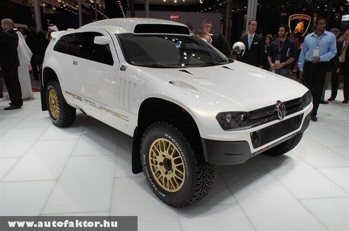 Volkswagen Touareg gazdagoknak