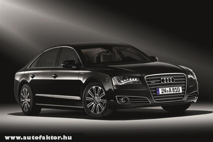 A8L Security - páncélozott Audi
