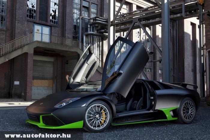 Murcielago LP750 Edo - 750 lóerõs Lamborghini