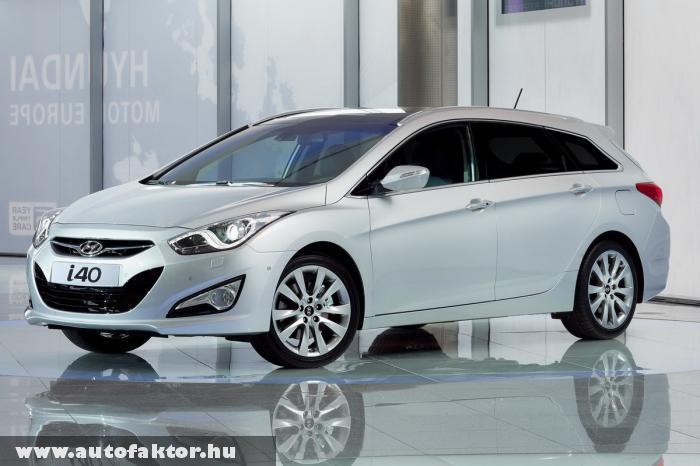 Hyundai i40cw 2011 - akár 177 lóerõs motorral