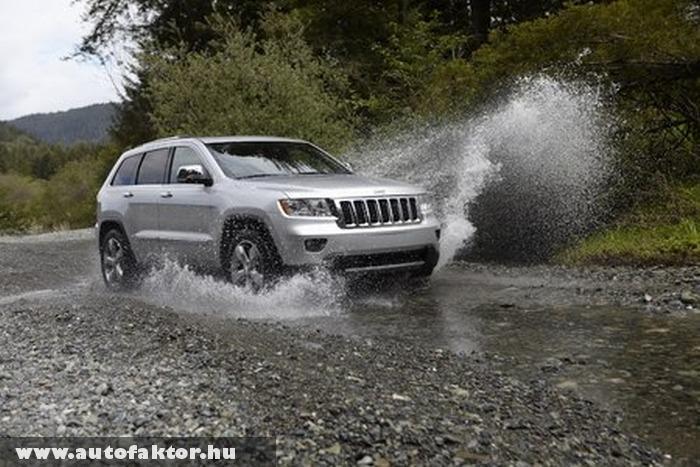 Jeep Grand Cherokee - V6-os dízel motorral