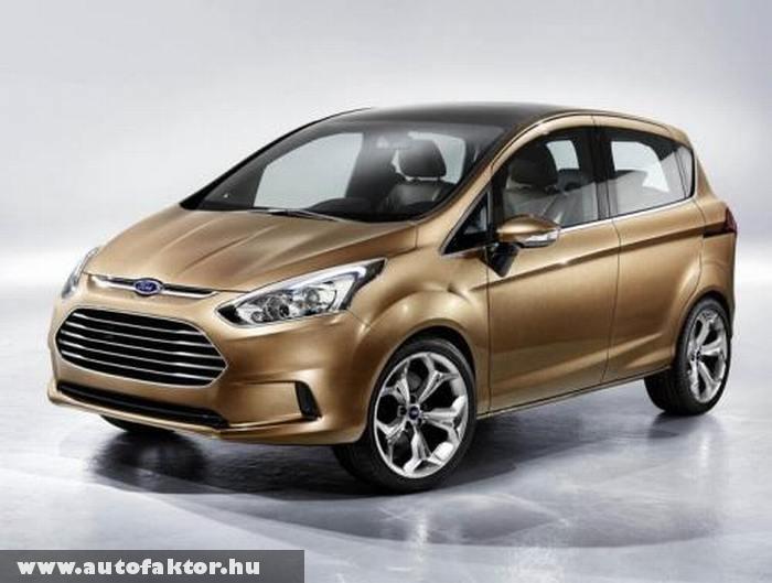 Ford B-Max - tetõoszlop nélkül