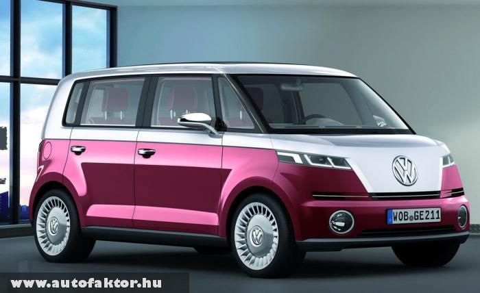 Volkswagen Bulli Concept - ötletnek nem rossz