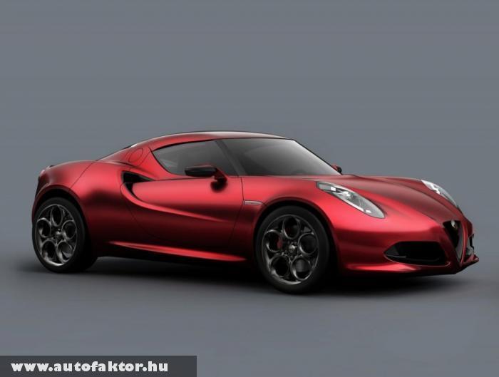 Genfi Autószalon 2011 - Alfa Romeo 4C