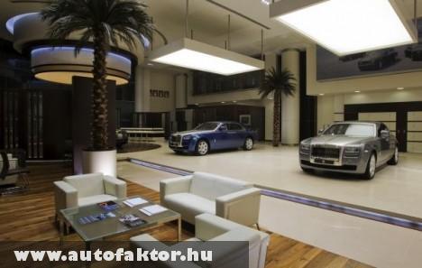 Rolls Royce választék egy Abu Dhabi-i szállodában