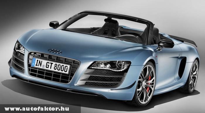Audi R8 GT Spyder - R-tronic 6 sebességes váltóval