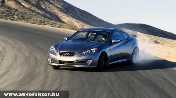 Hyundai Genesis Coupé - 8 másodperc alatt 100-on