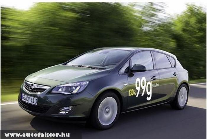 Opel Astra Ecoflex - 3,7 literes fogyasztással