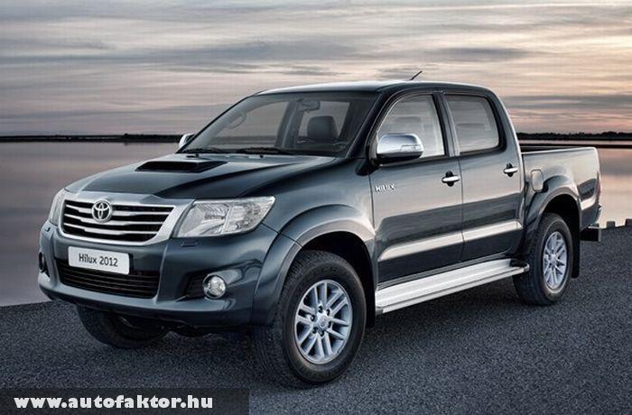 Toyota Hilux 2012 - tágasabb utastérrel