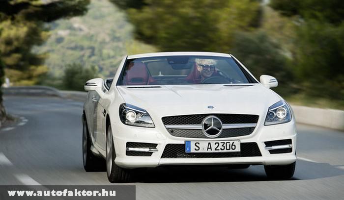 SLK 250 CDI - dízel motorral szerelt Mercedes
