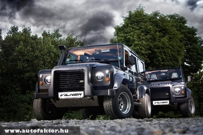 Land Rover Defender - luxus kivitelben