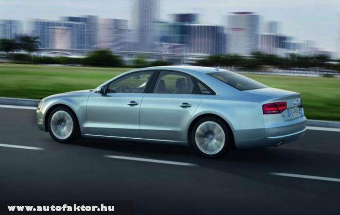 Audi A8 Hybrid - 40 százalékkal könnyebb karosszériárával