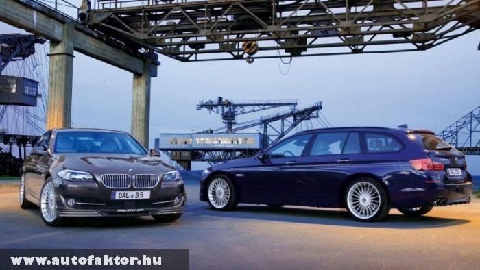 BMW Alpina D5 - 350 lovas dízel motorral