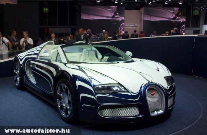 Bugatti Veyron Grand Sport L'Or Blanc - 16 hengeres motorral