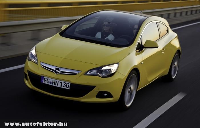 Opel Astra GTC 2011 - panorámatetõvel