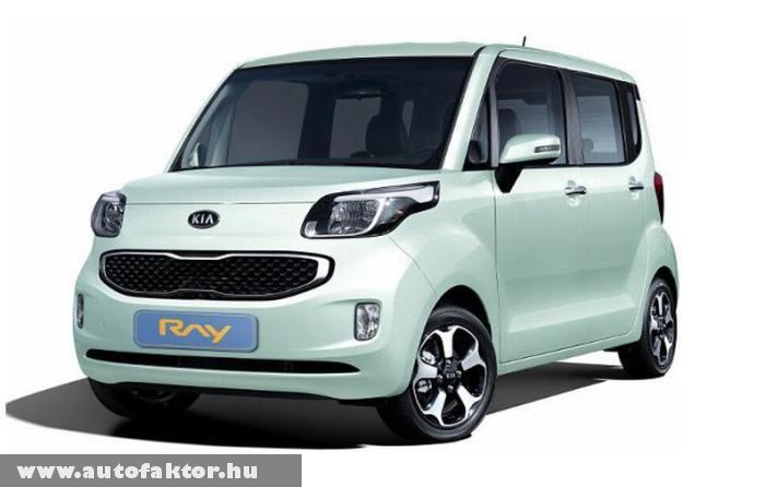 Kia Ray - kis autó egy kis családnak