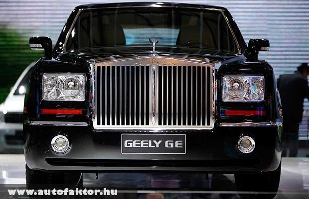 Rolls-Royce kínai másolat
