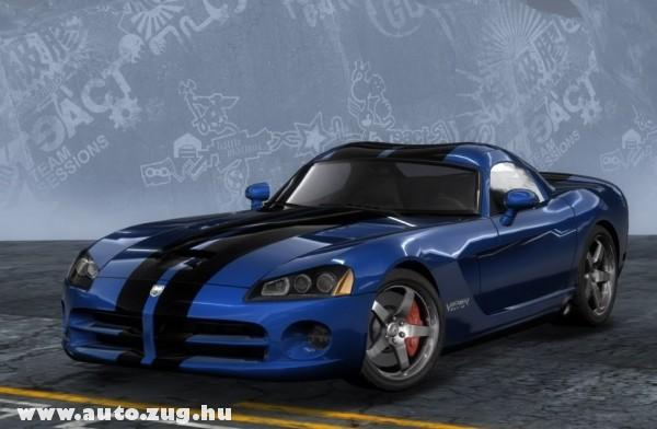 Kék Dodge Viper