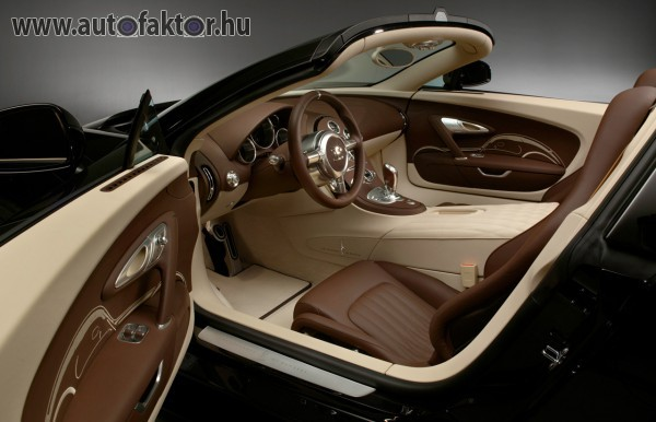 A világ leggyorsabbja belülről - Bugatti Veyron