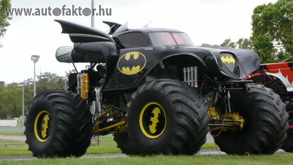 Batman autója óriáskeréken