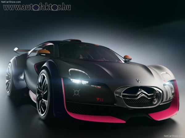 Citroen Survolt koncepció autó
