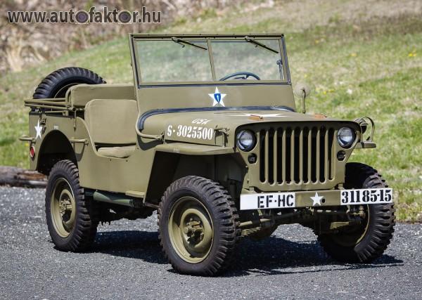 Veterán, háborús autócsoda - Jeep Willys