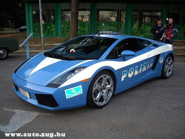Lamborghini Polizia
