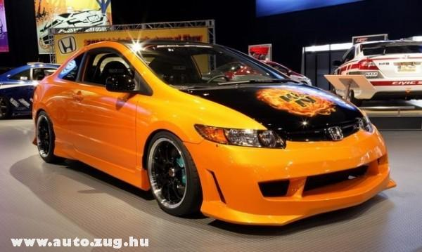 Honda Civic turbosítva