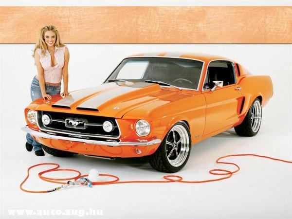 Lefestették a Mustangot