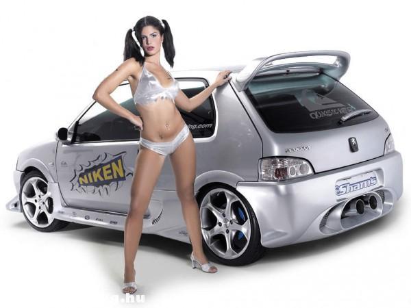 Peugeot girl