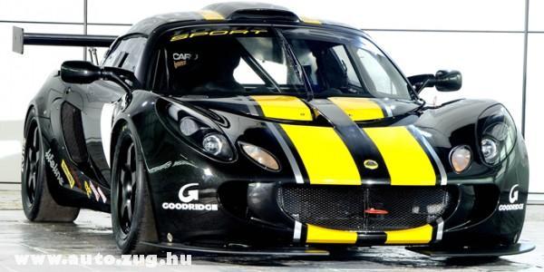 Lotus GT3 - versenyre termett