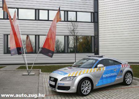 Audi TT a rendõrségnek
